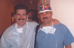 Live Surgery – Workshop, Orlando, USA, March 2003. Dr Matt L. Leavitt (USA), Dr Jerzy Kolasiński.