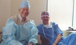 Live Surgery – Workshop, Orlando, USA, March 2003. Dr William M. Parsley (USA), Dr Jerzy Kolasiński.