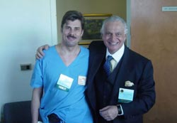 Warsztaty chirurgiczne - Orlando III/2004, Dr Jerzy Kolasiński i dr Roberto Cattani (USA)