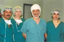 Zespół Hair Clinic Poznań. Ankara - 11/1998