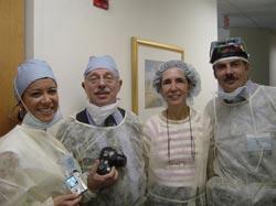 Warsztaty chirurgiczne - Orlando III/2004. Pierwsza od lewej dr Melicke Kouliaci (Turcja)