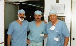 W klinice dr Juri. Buenos Aires - 10/1998