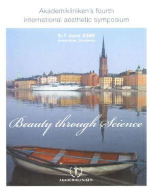 Beauty Through Science  Sztokholm – 5-7 czerwiec 2008