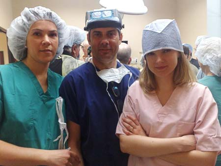 od lewej: dr med. Małgorzata Kolenda, dr med. Jerzy Kolasiński, dr med. Małgorzata Mackiewicz-Wysocka