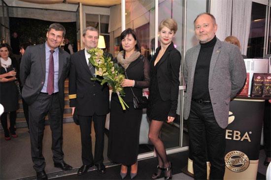 Od lewej: Jerzy Kolasiński, Tadeusz Wrona, Marzena Wrona, Weronika Kolasińska, Łukasz Florkowski
