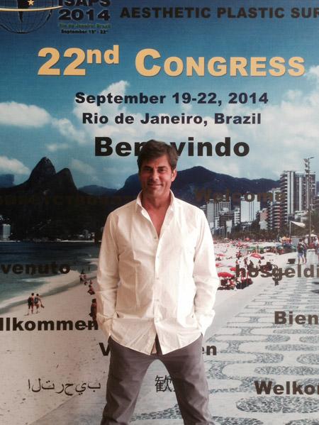 dr med. Jerzy Kolasiński na Kongresie ISAPS w Rio