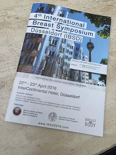 4 Międzynarodowe Sympozjum Chirurgii Piersi w Dusseldorfie