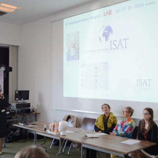 ISAT na 33 edycji LNE les nouvelles esthetiques w Krakowie