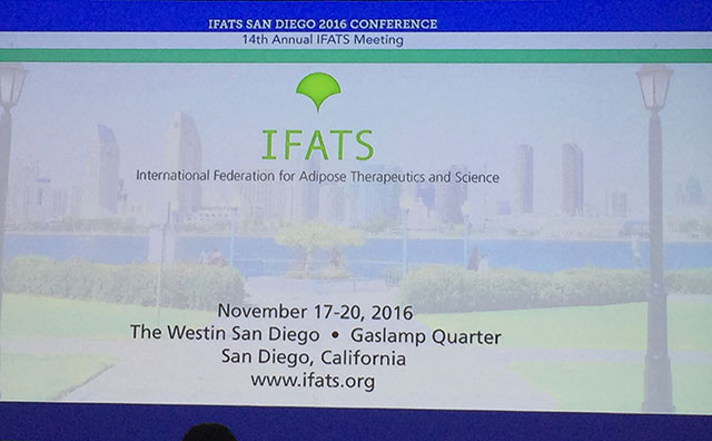 International Federation for Adipose Therapeutics and Science, 17-20 listopada, San Diego, California
