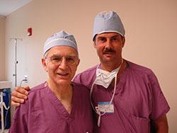 Dr Foad Nahai i dr Jerzy Kolasiński, Atlanta, USA